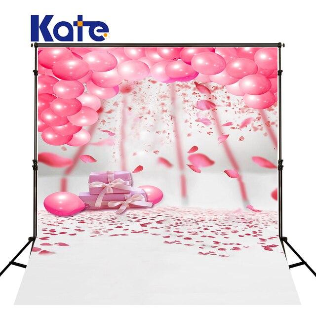 150X200Cm Kate White Background Photo Studio Pink Balloon White
