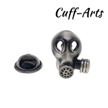 Brooch Lapel Pin For Men Pins and Brooches  Gas Mask Lapel Pin Badge Jewelry Broche PIN de la solapa By Cuffarts P10272