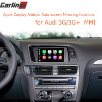 Video Interface with Apple Carplay Android Auto for A7 A3 Q3 A4 A6 A5 B9 Q5 Q7 Original Screen Upgrade MMI system iOS AirPlay