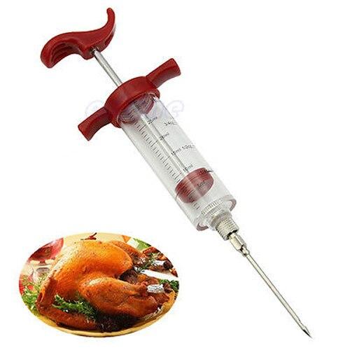 5x нержавеющая сталь маринада инжектор игла для барбекю гриль вкус Турции барбекю