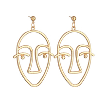 ea7df9b4e 5pair/lot Picasso Face Wire Earrings Statment Earrings Unique Dangle  Earrings In Gold Silver Tone