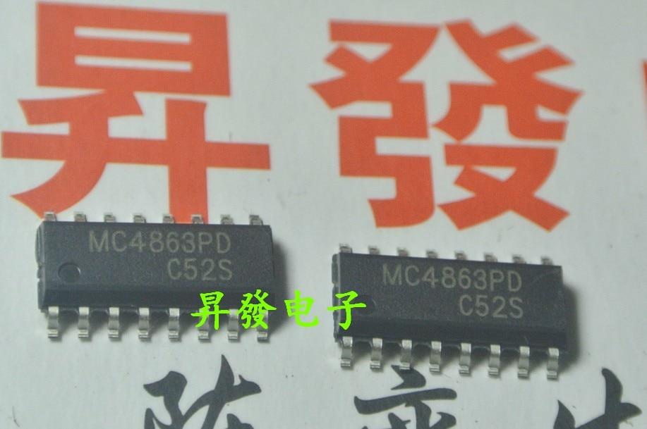 5pcs/lot MC4863PD TC4863SB CS4863 LM4863 SOP-16 In Stock
