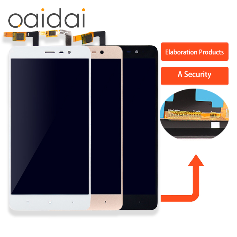 For Xiaomi Redmi Note3 LCD Display Touch Screen Mobile Phone Lcds Digitizer Assembly Replacement Parts 150mm
