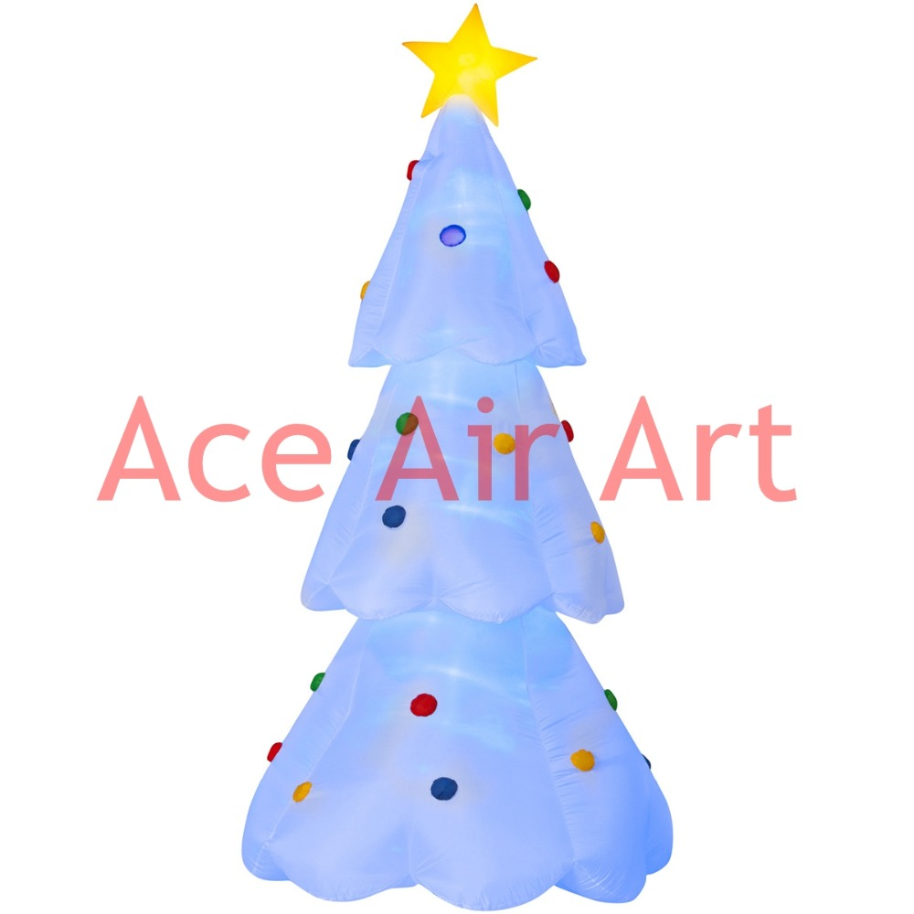 Inflatable christmas tree promotion shop for promotional for Inflatable christmas decorations