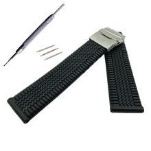 b1f8a7d6c20e 20mm 22mm correa de silicona para Samsung Gear S3 clásico frontera banda  deportes correa para reloj Seiko reemplazo de pulsera