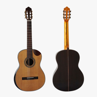 Special Bowl Shape Cutway Design High End Grade Solid Top Vintage Classical Guitars SC02CRCN With Free