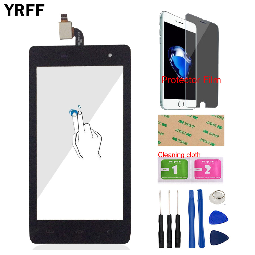 YRFF 4.7 Mobile Phone Front Glass For Homtom HT20 Touch Screen Touch Digitizer Panel Capacitive Tools Protector FilmYRFF 4.7 Mobile Phone Front Glass For Homtom HT20 Touch Screen Touch Digitizer Panel Capacitive Tools Protector Film