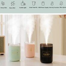 Ultrasonic Air Humidifier and Lamp