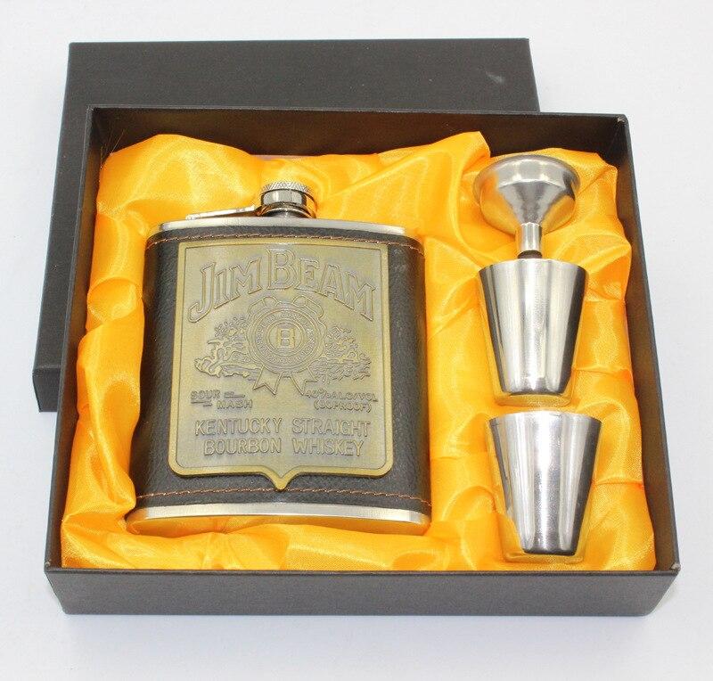 Petaca Frasco Garrafa Para vino licor whisky 7 oz // 196ml by CASCACAVELLE En acero inoxidable