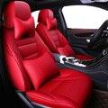 Universal Auto tampa de assento de couro Do Couro Para BMW e30 e34 e36 e39 e46 e60 e90 f10 f30 x3 x5 x6 auto acessórios do carro styling auto