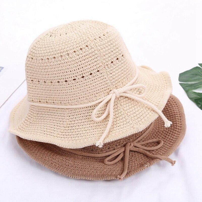 2018 Fashon Summer Women Hat girl summer Korean fashion flowers brand straw hat ladies sun protection fisherman visor hat caps