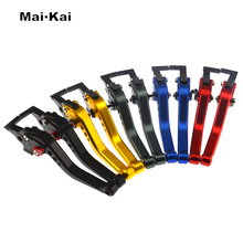 MAIKAI FOR HONDA CB400SF 1992-1998 CB750 1991-2007 CB 500 1993-1997 Motorcycle Accessories CNC Short Brake Clutch Levers gray 41mm cnc motorcycle preload adjusters fork bolts fit for honda cb400 1992 1998 cb750 1992 2001 yamaha fz6r fz6 2009 2015