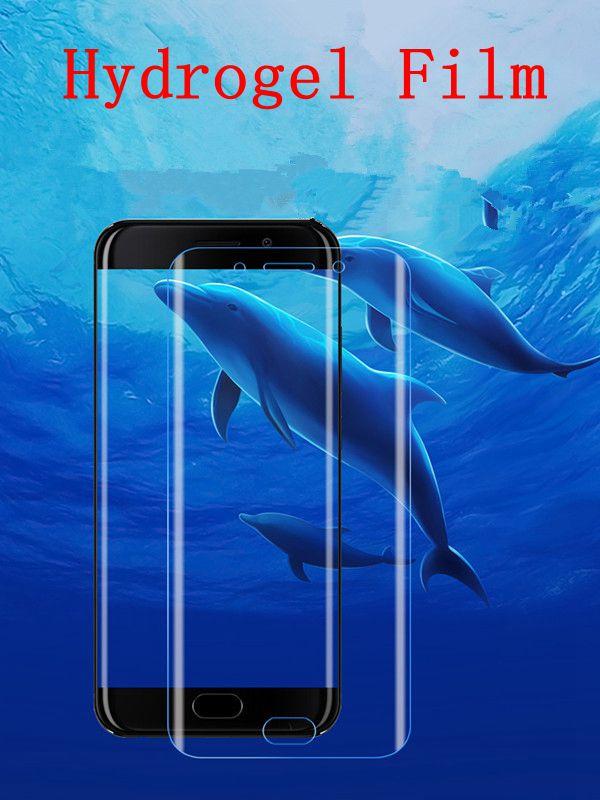 Полное покрытие гидрогелевые мягкие пленка для samsung Galaxy J7 Экран Защитная пленка для samsung Galaxy J7 не закаленное Стекло