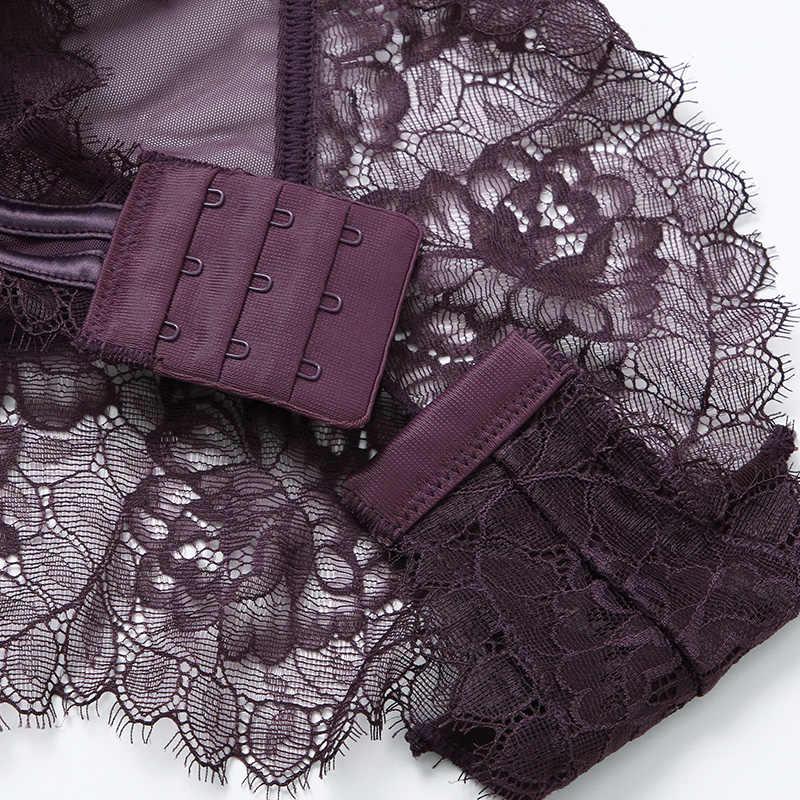 לדחוף את Bodysuits רצועות כוס דפוס פרחוני מרופד ברזלים באיכות גבוהה 5 צבעים הלבשה תחתונה נשים Shapewear