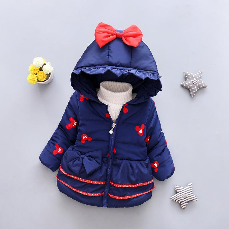 LZH Baby Girls Jacket 19 Autumn Winter Jacket For Girls Coat Kids Warm Hooded Outerwear Coat For Girls Clothes Children Jacket 10