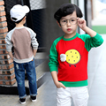 Toddler boy tops kids t-shirt boys cartoon sheep print t shirt boys kids long sleeve O-neck boys t shirt children cotton Tshirt