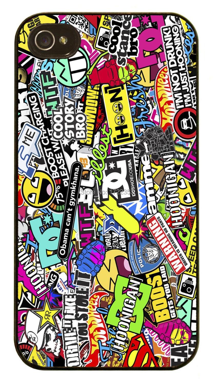 Cool Smiley Dc Graffiti Sticker Cover Case For Iphone 4 4s 5 5s 5c 6 Plus Samsung Galaxy A5 S3 S4 S5 Mini S6 Edeg Note 2 3 4 S3 Silver S4 Iphones3 Mp4 Aliexpress