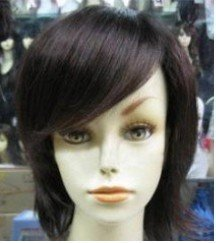 Stylish Short manufactured hair healthy wig/wigs Free shipping