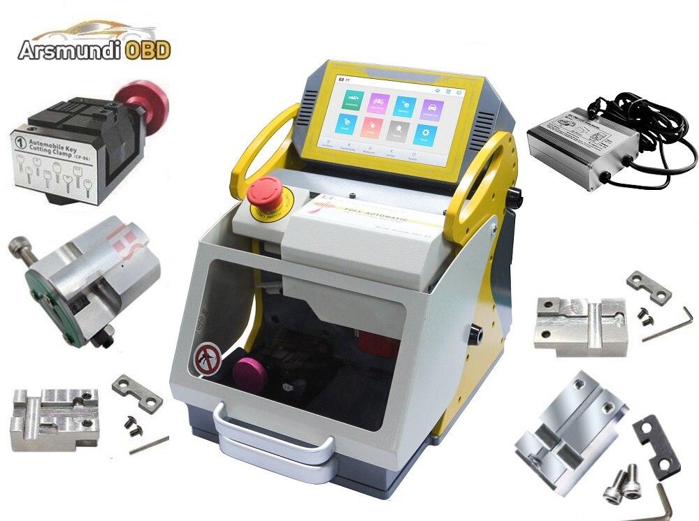 Smartest SEC E9 Portable Fully Automatic Key Cutting Machine Car Key Copy Machine 2019