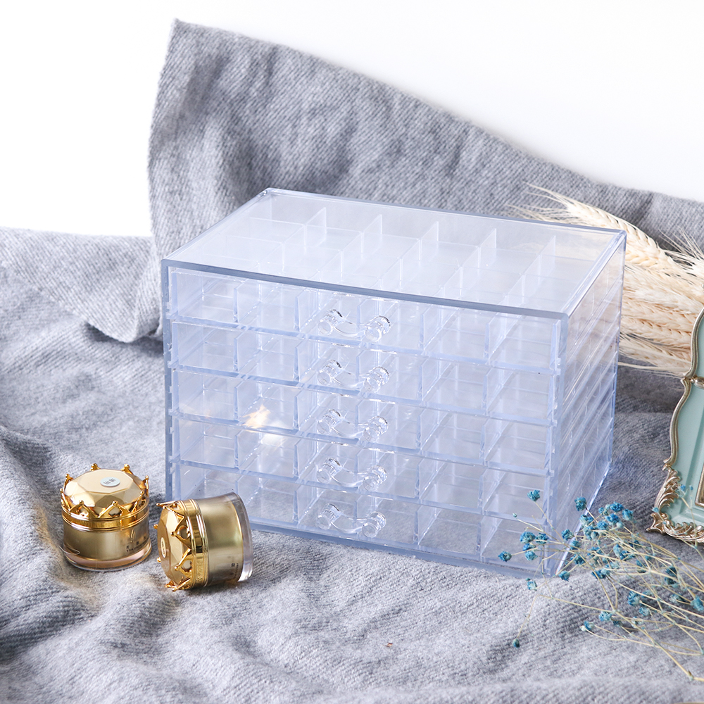120 Grids Empty Clear Nail Storage Case For Rhinestones Jewelry Beads Polish Plastic Rectangle Container Manicure Tools SA755120 Grids Empty Clear Nail Storage Case For Rhinestones Jewelry Beads Polish Plastic Rectangle Container Manicure Tools SA755