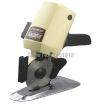 YJ-100 100mm Blade Electric Round Knife Cloth Cutter Fabric Cutting Machine 220V Round Knife Cutting Machine