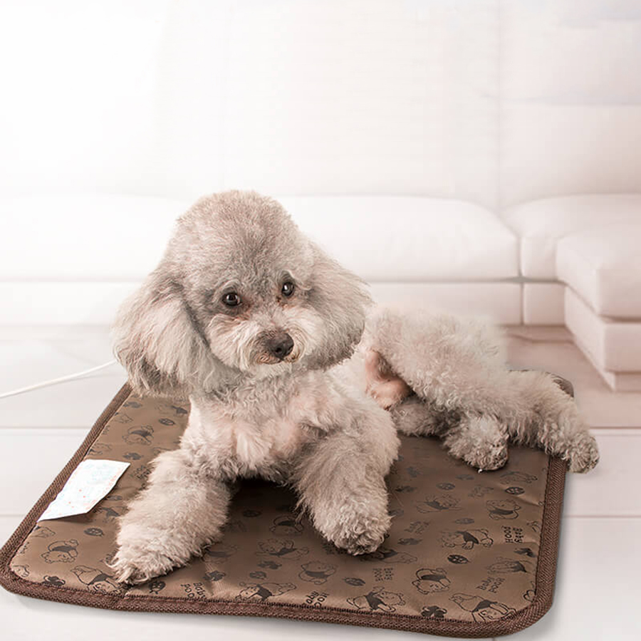 Electrical Waterproof Pet Chair Heater Animals Heaters Pet plush Keep-warming Electric Mini Heated Blanket for Chair and Floor ...