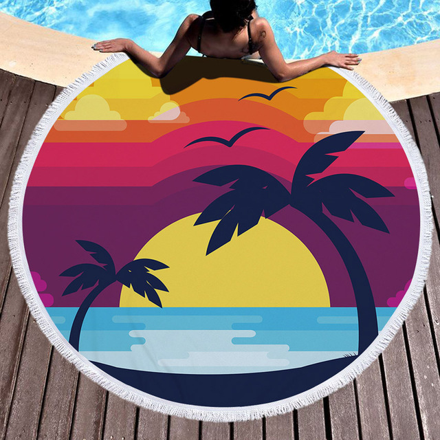 Summer Time Microfiber Beach Towel 3