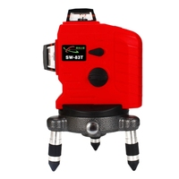 12 Lines Laser Level 3D 360degree Laser Levels 4degree Auto Self Leveling Wall Meter