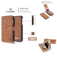 Luxury Brand Retro Genuine Leather Phone Bag Magnetic Case For Apple Iphone 5 5s Se 6