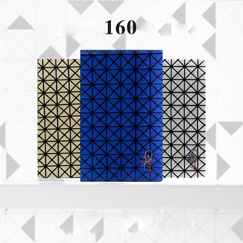 120/160 색상 네일 젤 폴란드어 디스플레이 카드 책 - 네일 아트