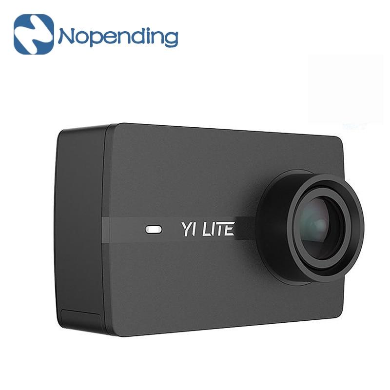 New Original Xiaoyi YI Lite Action Sport Camera 16MP Real 4K Built-in WIFI BT 2' LCD Screen 150 Degree EIS for Xiaomi EU Version