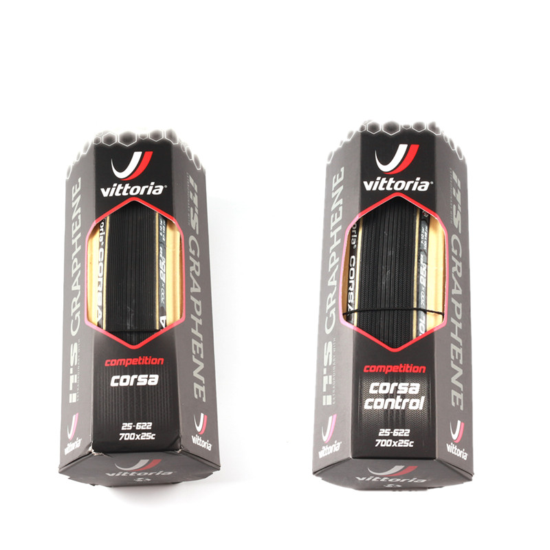 Vittoria Corsa Speed G Clincher TLR Tubeless Ready Tyre 700x25c 320 TPI