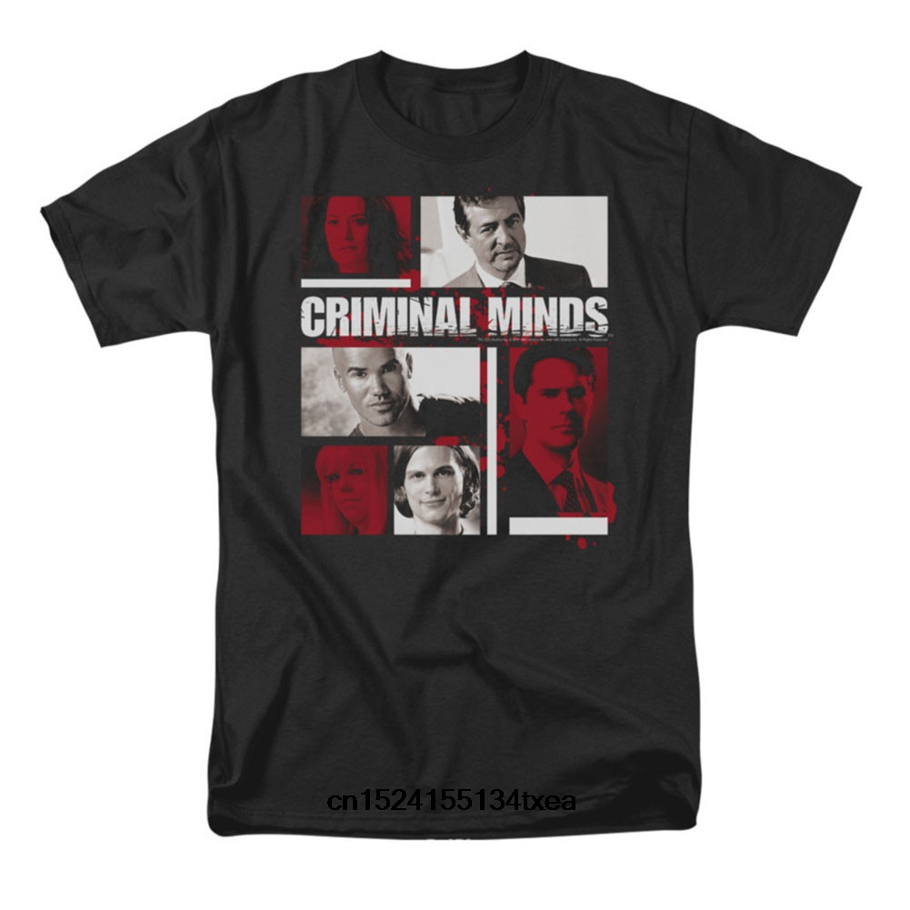 Funny t shirt men novelty women tshirt Criminal Minds