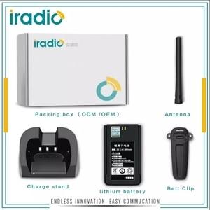 Image 5 - 100% מקורי iradio CP 680 ארוך טווח ווקי טוקי 10 w vhf או uhf מתח גבוה דו דרך רדיו