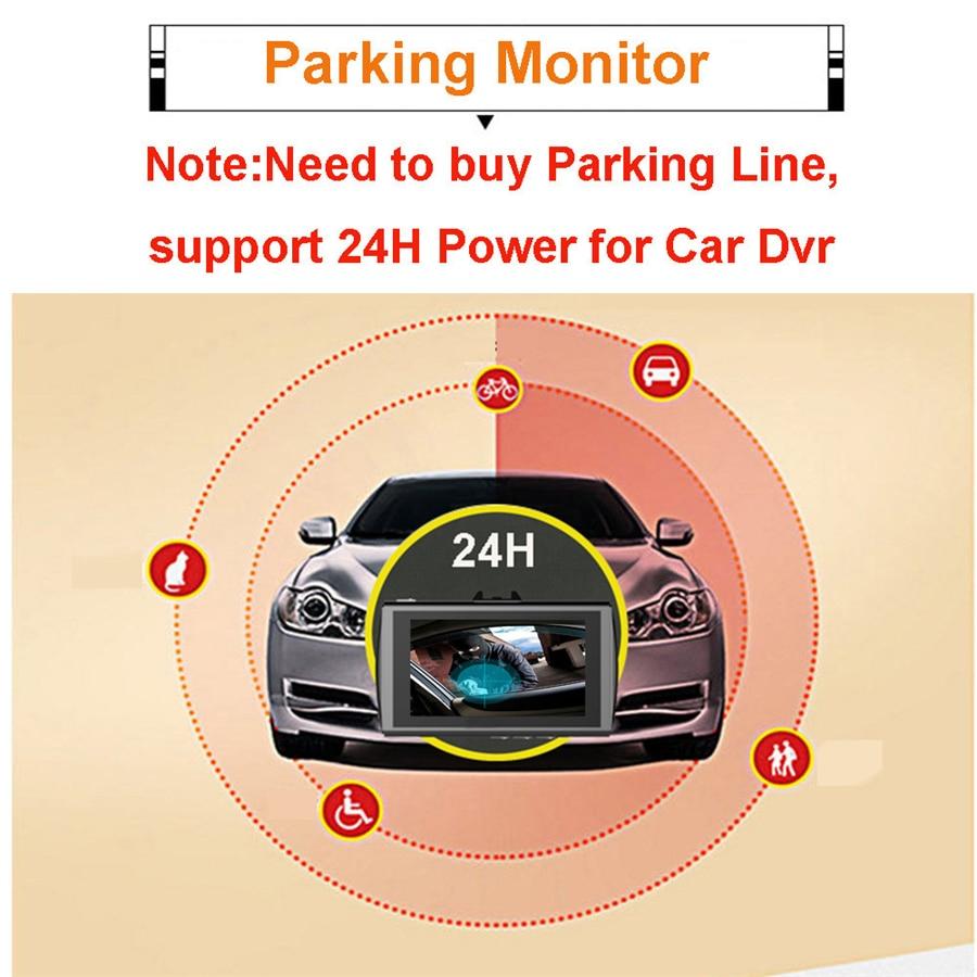 Automobile Dvr Gps Full HD 1080p Dual Camara Lens Video Recorder ADAS LDWS Night Vision Car Dash Cam Drop Shipping
