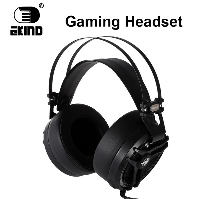 EKIND 7.1 Surround Sound Stereo headset 2.4Ghz Optical Wireless Gaming Headset headphone for PS4/3 XBox 360/one PC TV earphones huhd 2 4ghz fiber optical wireless gaming headphones for xbox 360 xbox one ps4 pc black