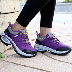 shoes woman Outdoor Casual shoes Leather suede Brand fashion Sneakers woman outdoor non-slip air damping tenis feminino casual 5