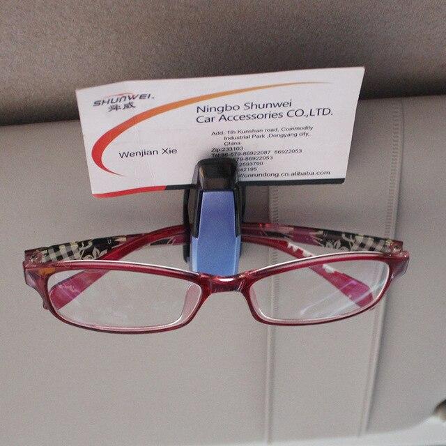 Titular vidros dos carros clipe instrumento multi-função óculos de clipe de  4 cores 9b7580dd90