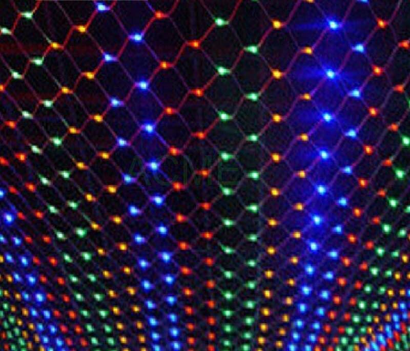 comprar luces de ao nuevo guirnaldas de navidad led net x m smd impermeable cadena de led de interioral aire libre del paisaje
