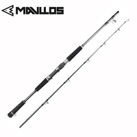 MAVLLOS Lure Weight 80-250g Jigging   Fishing     Rod   1.68M 1.8M 15-35Lb Superhard Saltwater Carbon   Fishing   Spinning   Rod