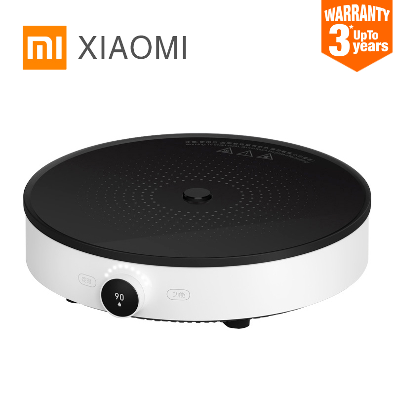 2019 XIAOMI MIJIA induction cookers Mi home Smart electric tile hob oven Creative Precise Control cooktop plate Hot pot app WIFI-in Induction Cookers from Home Appliances    1