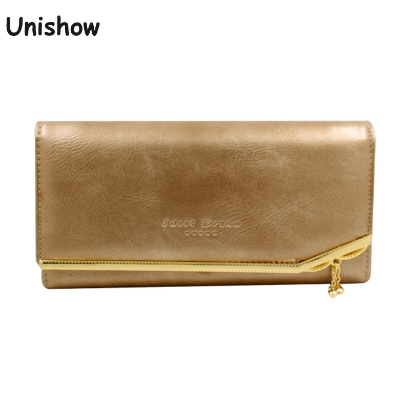 Luxury Oil Pu leather women wallet with small pendant soild long female purse wallet brand lady phone wallet fashion money purse fashion women leather wallet clutch purse lady short handbag bag women small purse lady money bag zipper luxury brand wallet hot