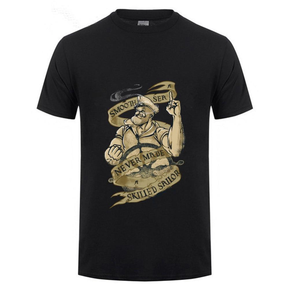 Men Discount Skilled Sailor T Shirt Store Adult Natural -9435