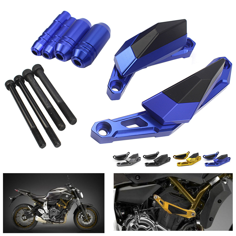Motorcycle Left Right CNC Engine Guard Case Slider Cover Crash Pads Frame Sliders Crash Protectors For