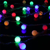 Waterproof 20m 200 LED String Light Globes Ball Shaped LED String Fairy Light Wedding Party Fairy