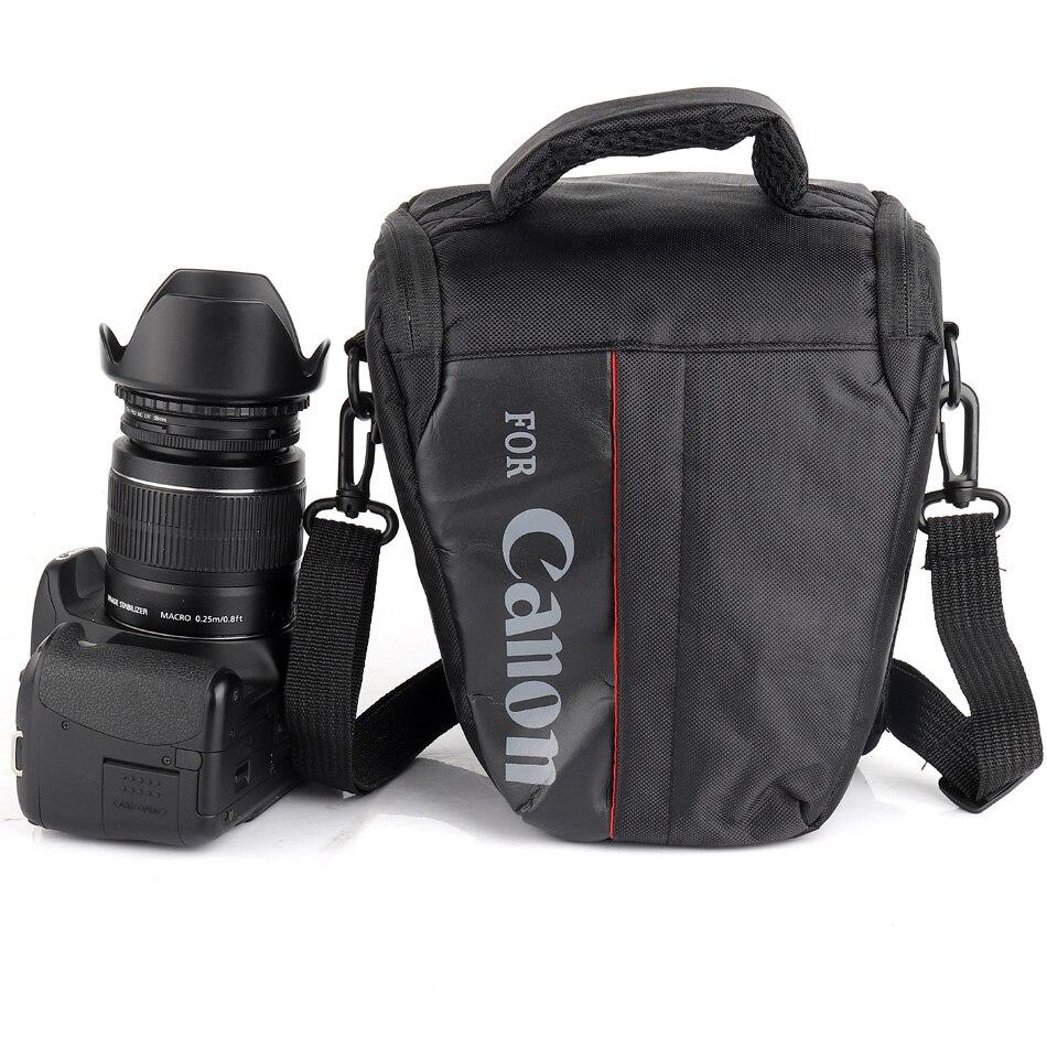 Cámara DSLR bolsa impermeable para Canon EOS Rebel T6i T7 T5i T2i T3i T4i SX60 SX50 1300D 1200D 750D 60D 200D 550D 500D 1100D