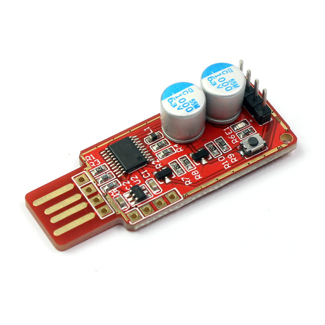 USB Cartão de Vigilância Autônoma Automático Do Computador Reiniciar Servidor Do Jogo LTC BTC Mineiro Mineração Acidente de Tela Azul Relógio Cão PC