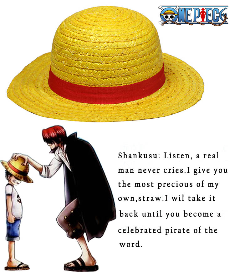 Free Shipping One Piece Monkey.D.Luffy Two years ago /latter Straw hat Accessories Anime Cosplay Hat