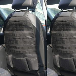 Image 5 - טקטי Molle רכב מושב אחורי ארגונית רכב צבאי מושב כיסוי ציד תיק מושב מגן אחסון תיק עבור חיצוני כלים