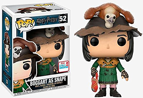 цена на 2017 NYCC Exclusive Funko pop Official Harry Potter - Boggart as Snape Vinyl Action Figure Collectible Model Toy In Stock
